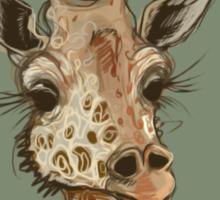 Lovely Lashes Giraffe Sticker