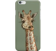 Lovely Lashes Giraffe iPhone Case/Skin