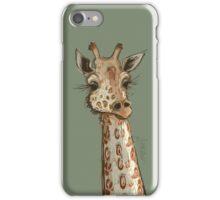 Lovely Lashes Giraffe iPhone Case/Skin