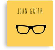John Green  Canvas Print