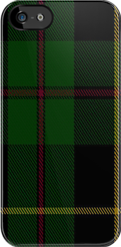 00848 West Coast Woven Mill  Fashion Tartan #9275 5471-2 Fabric Print Iphone Case by Detnecs2013