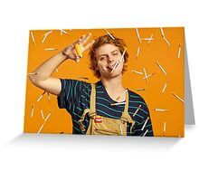 Mac Demarco in Paradise (part deux) Greeting Card
