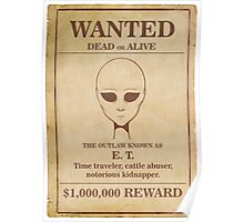 Alien Wanted Poster Poster