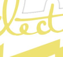 electric 2 Sticker