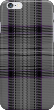 00854 West Coast Woven Mill Fashion Tartan #9275 1405 Fabric Print Iphone Case by Detnecs2013