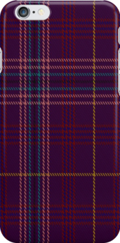 00857 West Coast Woven Mill Fashion Tartan 39275 1422-1 Fabric Print Iphone Case by Detnecs2013