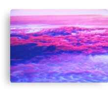 Above the Clouds at Sunset Canvas Print