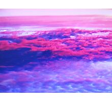 Above the Clouds at Sunset Photographic Print