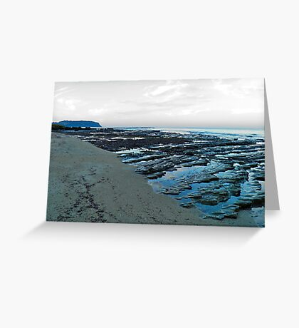 Table Cape at dusk Greeting Card
