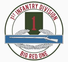 1st Infantry CIB Big Red One by jcmeyer