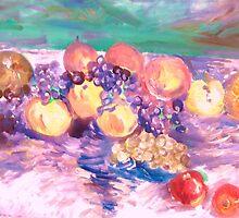 Celebration of Fruit by artqueene