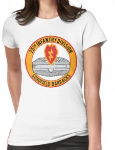 25th Infantry CAB Womens Fitted T-Shirt