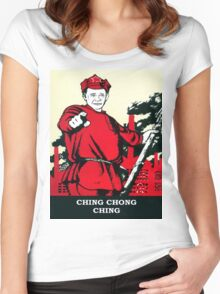 CHING CHONG CHING Women's Fitted Scoop T-Shirt