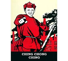 CHING CHONG CHING Photographic Print