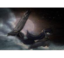 Captain Luna Photographic Print