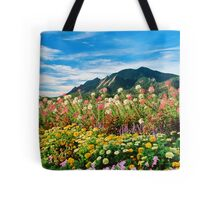Flowers and Flatirons Tote Bag