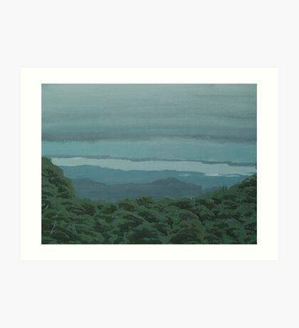 Illawarra from Robertson Art Print