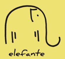 elefante One Piece - Short Sleeve