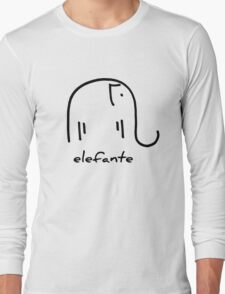 elefante Long Sleeve T-Shirt