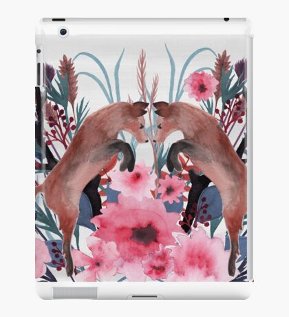 Foxy Field and Flowers iPad Case/Skin