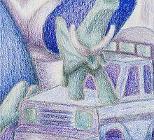 Shades Of Blue Still Life by jkartlife
