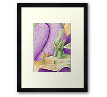Shades Of Green Still Life Framed Print