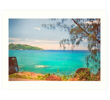Seychelles II. memories from paradise. Indian Ocean. Art Print