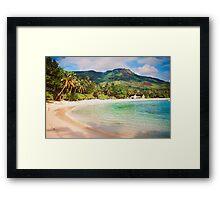 Seychelles. Meridien Barbarons. Framed Print