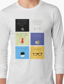 Last Words - John Green edition Long Sleeve T-Shirt