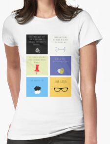 Last Words - John Green edition Womens Fitted T-Shirt