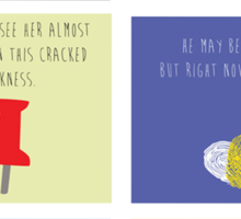 Last Words - John Green edition Sticker