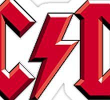 AC/DC Logo Sticker