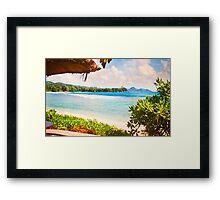Seychelles. Meridien Barbarons. Indian Ocean. Framed Print
