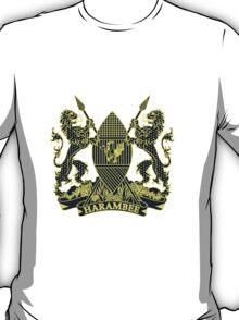 Kenya Court of Arms - Passport Style T-Shirt
