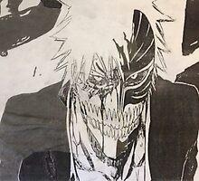 Ichigo Half-print by SoonieUchiha