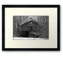 Air Conditioned for Free Framed Print