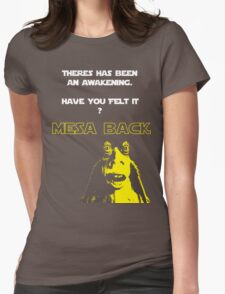 Jar Jars back Womens Fitted T-Shirt