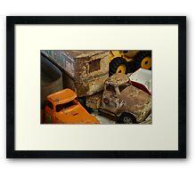 Trucks..... Framed Print