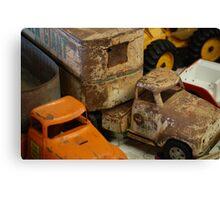 Trucks..... Canvas Print