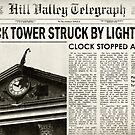 Hill Valley Telegraph - Back to the Future by Indestructibbo