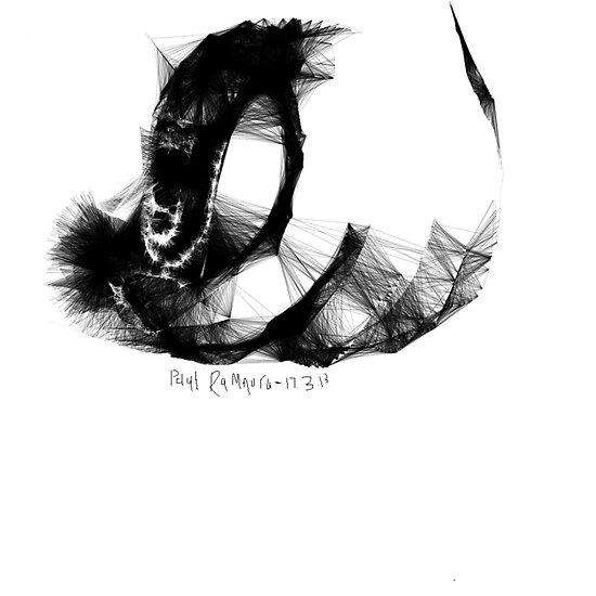Hand -(170313)- Digital Artwork/Program: The Scribbler by paulramnora