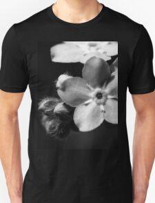 Forget-Me-Nots 1 B&W T-Shirt