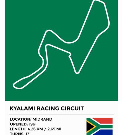 Kyalami Racing Circuit Sticker