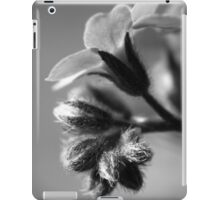 Forget-Me-Nots 4 B&W iPad Case/Skin