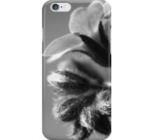 Forget-Me-Nots 4 B&W iPhone Case/Skin