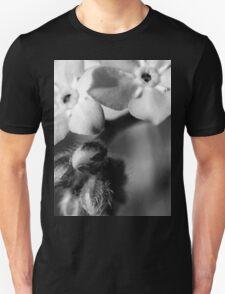 Forget-Me-Nots 6 B&W T-Shirt