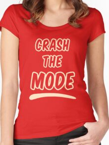 Crash the Mode - Version 2 Women's Fitted Scoop T-Shirt