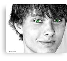 Irish Eyes Canvas Print