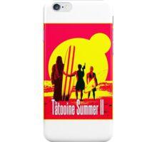 Tatooine Summer II iPhone Case/Skin