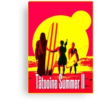Tatooine Summer II Canvas Print